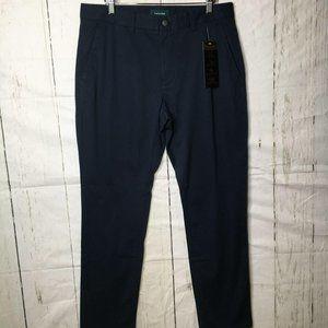 Taylrd Mens Chino Pants Slim Fit Stretch 32/30 NWT